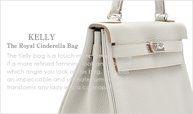 HERMES KELLY:The Royal Cinderella Bag