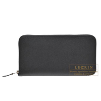 Hermes Azap long Black Epsom leather Silver hardware