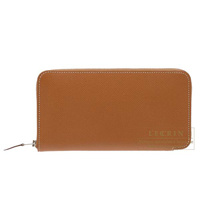 Hermes Azap long Gold Epsom leather Silver hardware