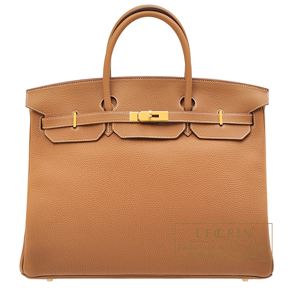 Hermes Birkin bag 40 Gold Togo leather Gold hardware